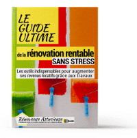 """Reçois le livre offert """"le guide ultime de la rénovation rentable, sans stress"""""""