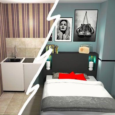 Transformer un studio en T2 : ajoute une chambre pour augmenter ta rentabilité locative