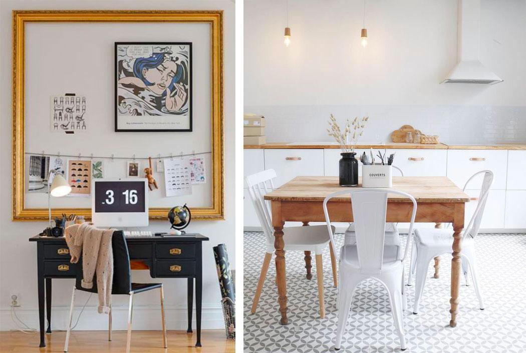 Mixer les meubles anciens et modernes pour donner du caractère à sa décoration